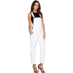 Citizens of Humanity Audrey Overalls in Omni Sz XS